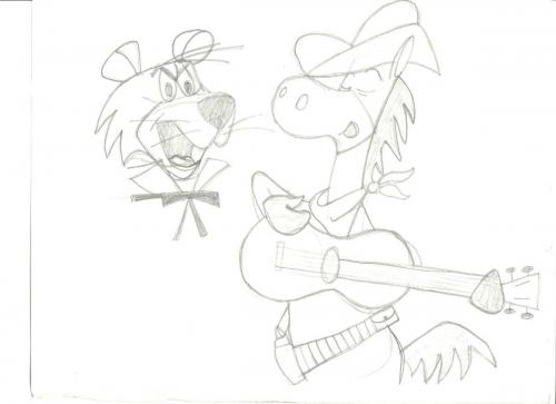 Snagglepuss n Quickdraw